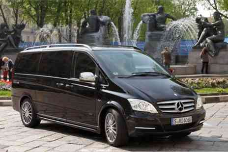 Europe Shuttle - Private Departure Transfer Central London to Luton Airport in a Luxury Van - Save 0%
