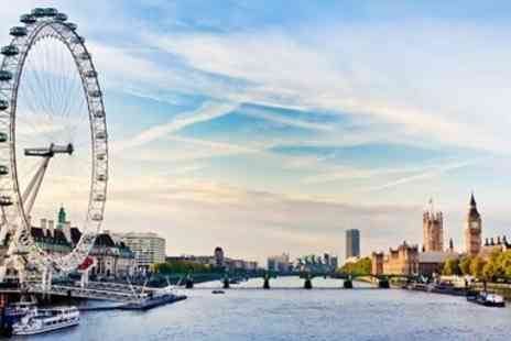 City Cruises PLC - Thames cruise with live jazz, dinner and bubbly for 2 - Save 14%
