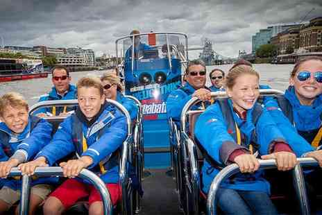 City Cruises - High speed Thames jetboat experience with ThamesJet - Save 23%