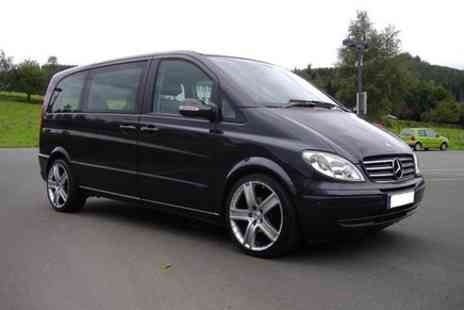 Europe Shuttle - Private Arrival Transfer London Luton Airport to Central London in a Luxury Van - Save 0%