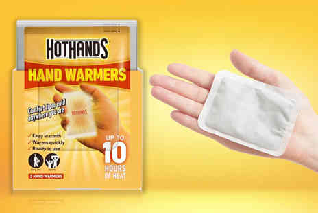 ViVo Technologies - Hot Hands hand warmers - Save 80%