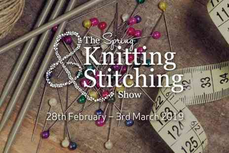 Upper Street Events - The Spring Knitting and Stitching Show More Craft than you can Shake a Knitting Needle At - Save 21%
