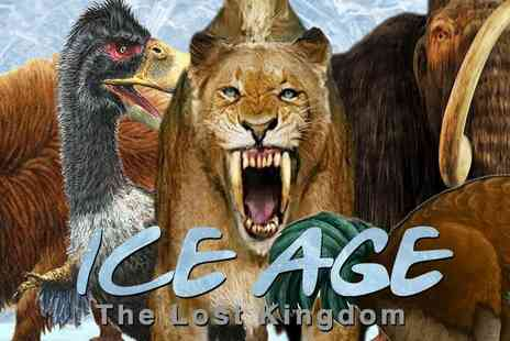 Weli Cultural Alliance - Exclusive Super Early Bird Flash Sale Ice Age All New Interactive Experience - Save 39%