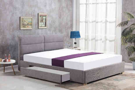 That Mattress - 4ft6 single drawer fabric bed or 5ft fabric bed - Save 85%