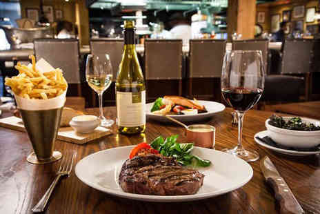 The Mash Tun - Flat iron steak dining for two people with chips or including a cocktail or craft beer each, or a bottle of wine to share - Save 53%