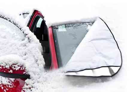 ViVo Technologies - Two magnetic car windscreen covers - Save 50%
