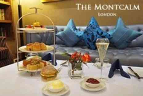 The Montcalm - Afternoon Tea With Prosecco and Pastries For Two - Save 55%