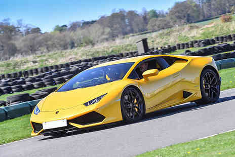 Supercar Test Drives - Three lap driving experience in a Lamborghini Huracán on a weekday - Save 67%