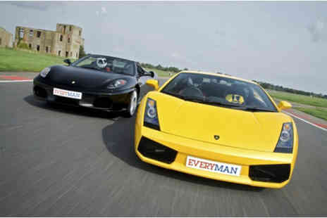 Everyman Racing - Supercar driving experience with one car - Save 0%