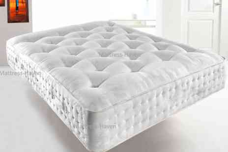 Dreamtouch Mattresses - Single, small double, double or king Deluxe 3000 memory pocket sprung mattress - Save 80%