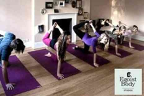Egoist Body Studios - Four 120 Minute Pilates Workshops - Save 68%