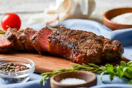 Mercure Telford Madeley Court Hotel - 8oz Rump Steak Meal with Wine for Two or Four - Save 17%