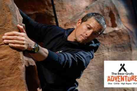 The Bear Grylls Adventure - Basecamp Entry and Activities - Save 30%