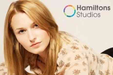 Hamiltons Studios - Makeover Photo Shoot For Two Plus Prints - Save 84%