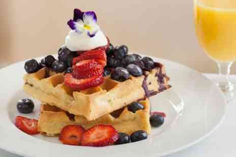 George Tearoom - Knickerbocker Glory or Belgian Waffle with Drink for Two or Four - Save 43%