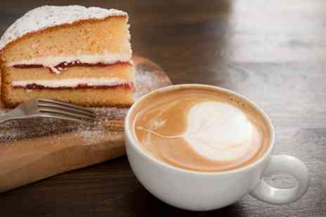 Cafe Latino - Cake and Coffee for Two or Four - Save 50%