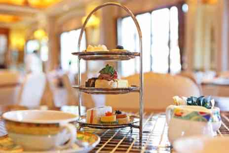 Hilton Leicester Hotel - Sparkling Afternoon Tea for Two or Four - Save 41%