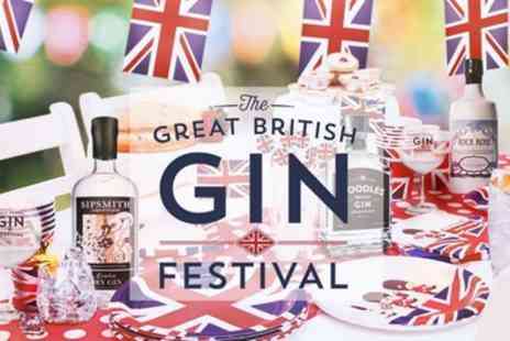 The Great British Gin Festival 2019 - One standard or VIP ticket to The Great Britsh Gin Festival on 23 March in Ipswich or 29 March in Northamptonshire - Save 25%