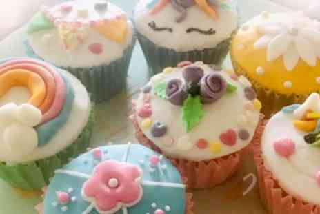 Sugar and Spice Coffee Shop - Cupcake Decorating Party with Afternoon Tea for Six Children - Save 34%