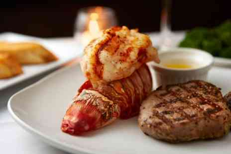 Brasserie Vacherin - Surf and Turf with Fries and Glass of Wine for Two or Four - Save 40%
