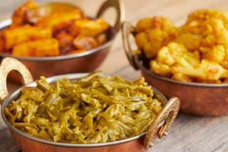 The Original India Garden - Two Course Indian Meal for Two or Four - Save 35%