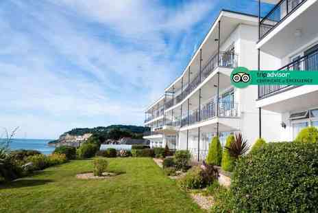 The Ocean View Hotel  - Overnight Isle of Wight stay for two people with three-course dinner, breakfast and bottle of wine - Save 44%