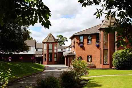 Beaufort Park Hotel - Overnight North Wales stay for two with breakfast, two course dinner and afternoon tea - Save 47%