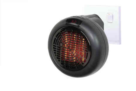 Black Feather - Plug in wall Outlet heater - Save 80%