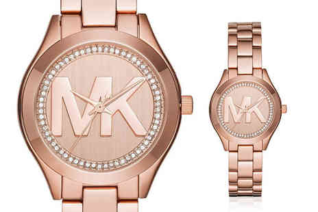 Best Watch Company - Michael Kors Mini Slim Runway ladies watch - Save 56%