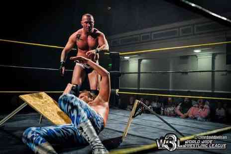 World Wide Wrestling League - Ticket to see the World Wide Wrestling League live in action - Save 62%
