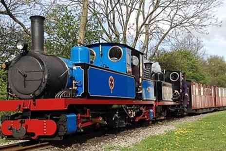 Kirklees Light Railway - Steam Train Tickets for Two Adults or Family of Four - Save 0%