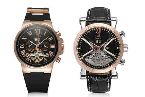 Vault Time - Vault mens watch choose from two designs - Save 51%
