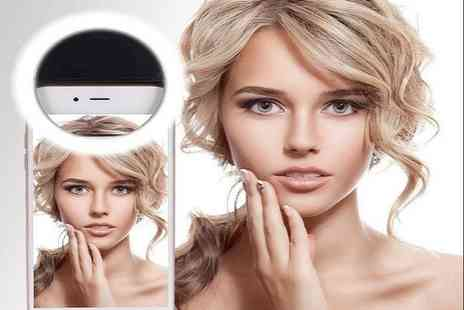 Impress Gadgets - Ultra bright selfie ring phone light - Save 73%