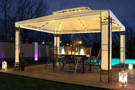 Eve Motion - 3 x 4m Milano LED pavilion - Save 62%