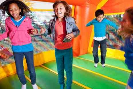 Go Wild Soft Play - One, Five or Ten Soft Play Entries for Up to Four Children - Save 75%