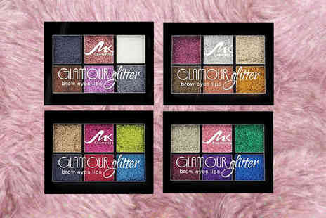 Buy Something - Glitter eyeshadow makeup palette choose between four colours - Save 50%