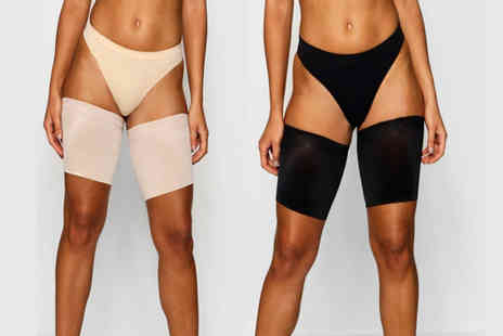 Bellap - Pair of lace anti chafing thigh bands choose from two colours and four sizes - Save 75%