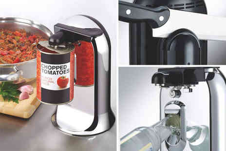 Excess Retail - Kenwood three in one chrome can opener - Save 61%