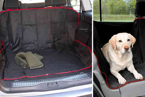 Black Feather - Waterproof car boot and car seat liner - Save 67%