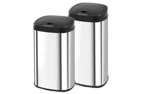Excess Retail - 40L square sensor bin - Save 61%