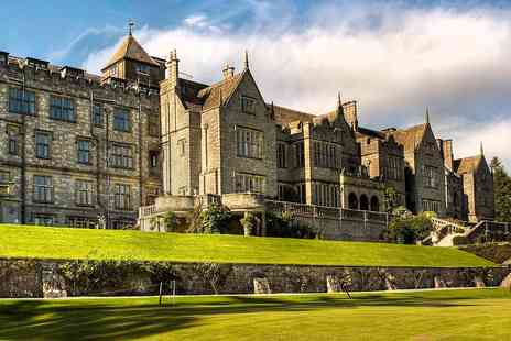 Bovey Castle - Country house spa treat with massage, lunch and bubbly - Save 0%