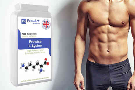 Prowise - Three month supply of Prowise L Lysine tablets - Save 74%