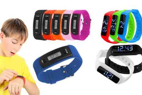 Groupon Goods Global GmbH - Aquarius AQ111 or AQ114 Kids Fitness Tracker - Save 63%