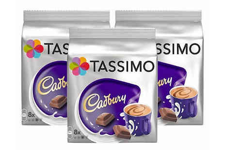 Express Coffee Retail - Tassimo Hot Chocolate Mega Pack Cadburys, Oreo, Milka or Suchard - Save 68%