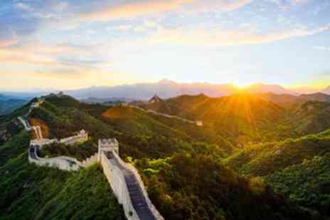 LUMLE HOLIDAYS - Seven nights China tour including Great Wall and flights - Save 0%