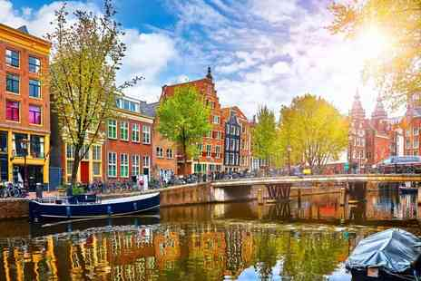 Travel Center - Two nights Amsterdam city stay with a sightseeing canal cruise and return flights - Save 27%