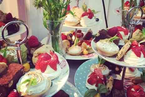 Darwins Kitchen - Afternoon Tea with Optional Glass of Prosecco for Two or Four - Save 31%