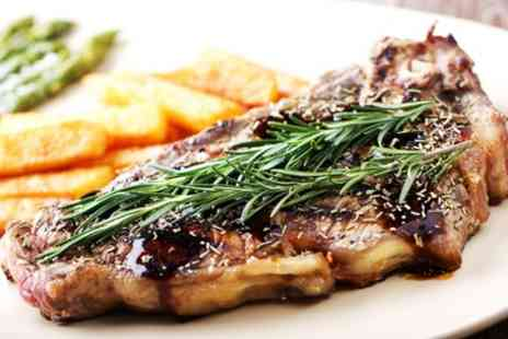 Kings Arms Hotel - Choice of Sirloin or Rump Steak with Glass of Wine for Two or Four - Save 47%