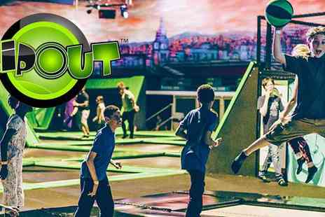 High Fly - Bounce Into Action at Flip Out Wandsworth All Weather Fun - Save 50%