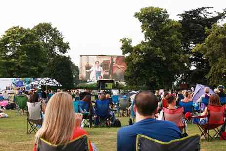 Essex Alfresco Cinema - Childs ticket to an outdoor cinema showing choose from five movies including Greatest Showman and Mamma Mia - Save 41%